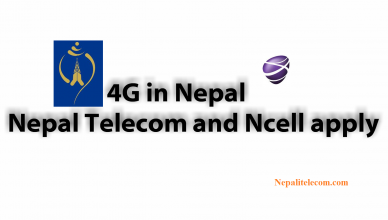 4G in Nepal NT Ncell