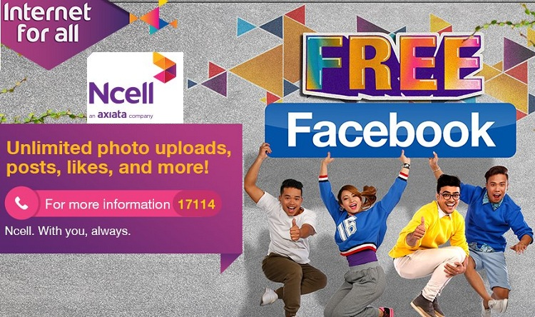 Free Facebook offer Ncell
