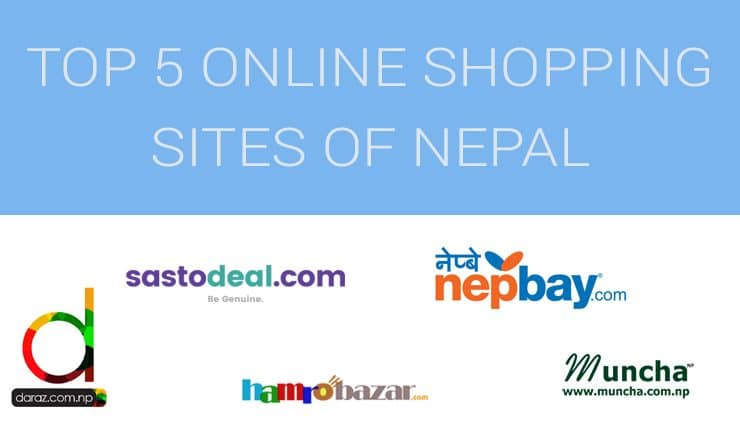 Top 5 online shopping sites in nepal nepalitelecom for What are some online shopping sites