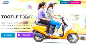 Tootle ride sharing app