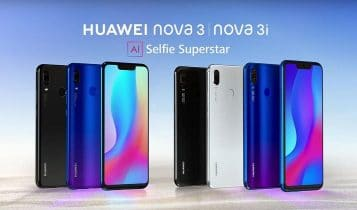 Huawei Nova 3 and Nova 3i launched in Nepal, Specs and price