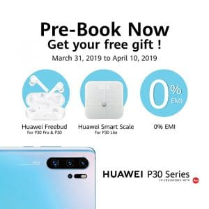 Huawei P30, P30 Pro and P30 lite price revealed and available for pre-booking