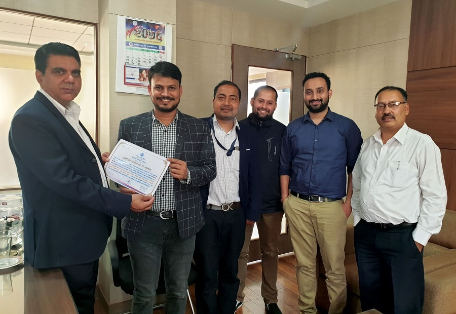NRB executive handover PSP license to Khalti