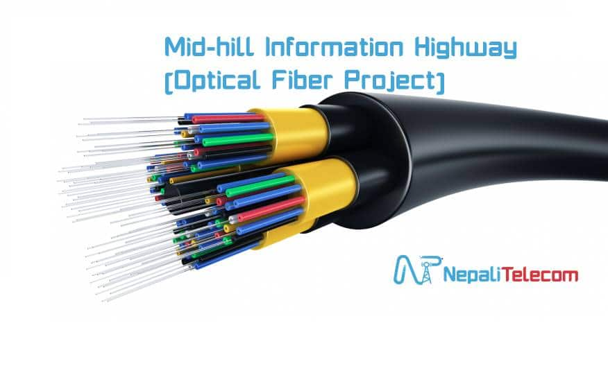 Mid-hill optical fiber project
