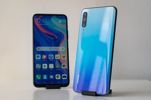 huawei Y9s design and display