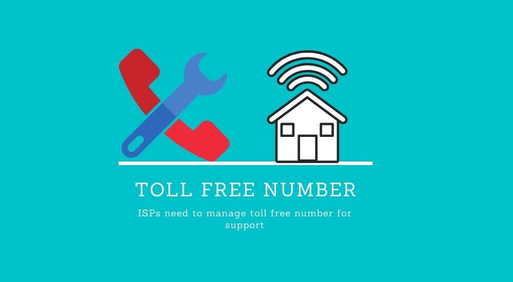 NTA ISP toll free number