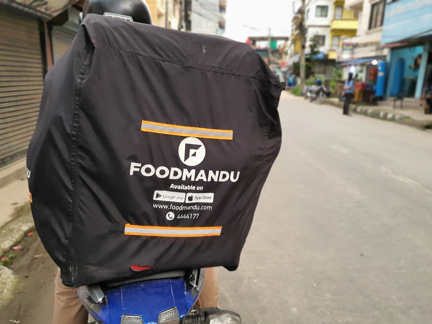 Food delivery in Nepal