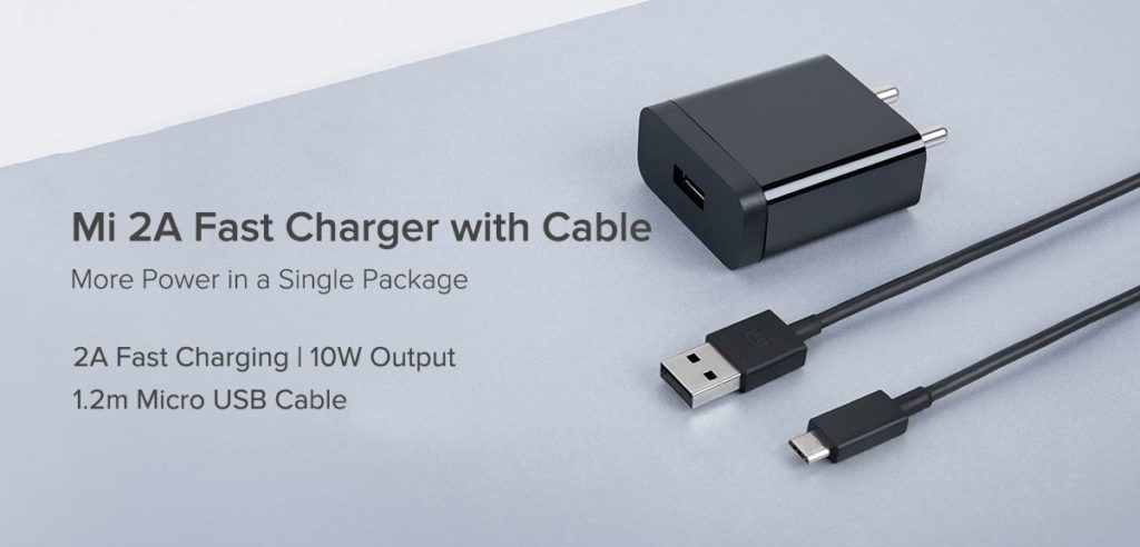 Mi 2A Fast Charger with Cable