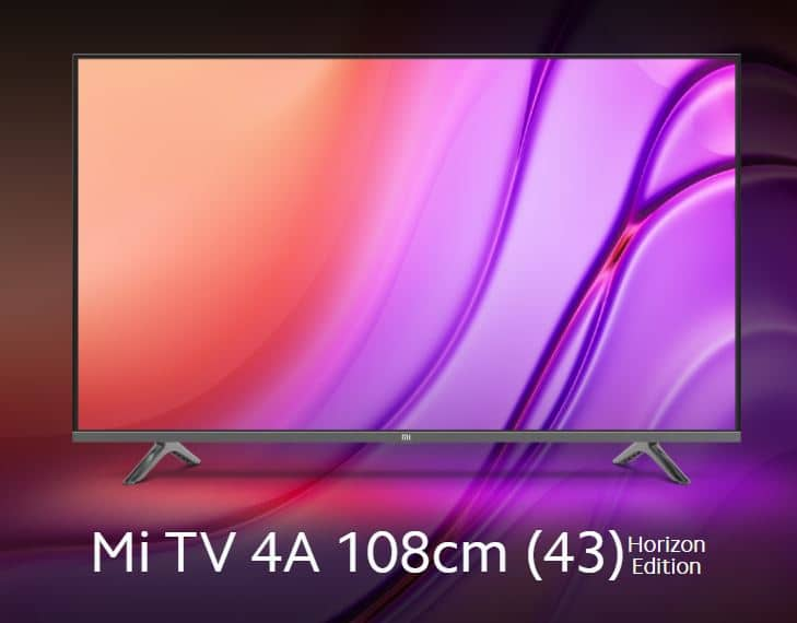 Mi TV 4A 43 inch Horizon Edition Overview