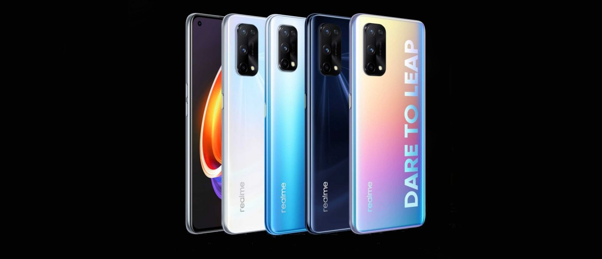 realme x7 and x7 pro color options variants