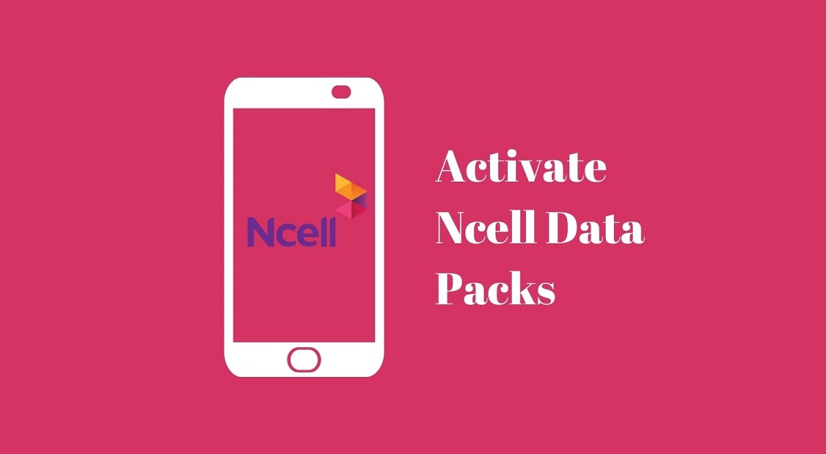 activate Ncell data pack