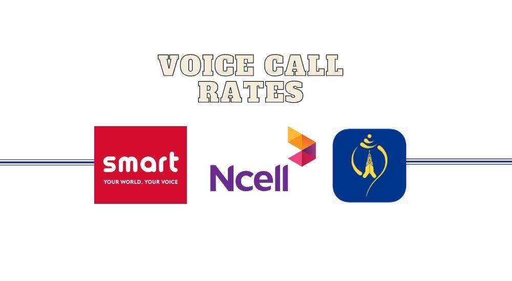 Voice Call Rates in ncell ntc smartcell