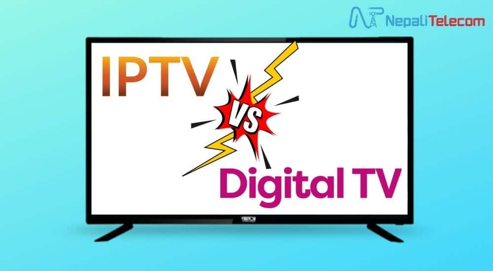 difference between iptv and digital tv