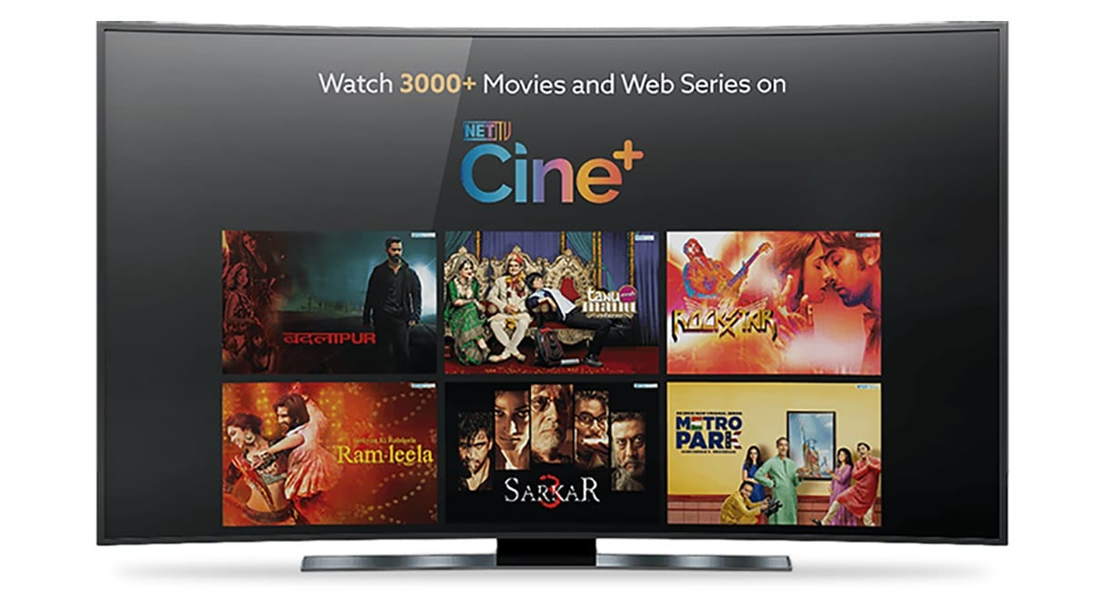 NetTV cine plus movies