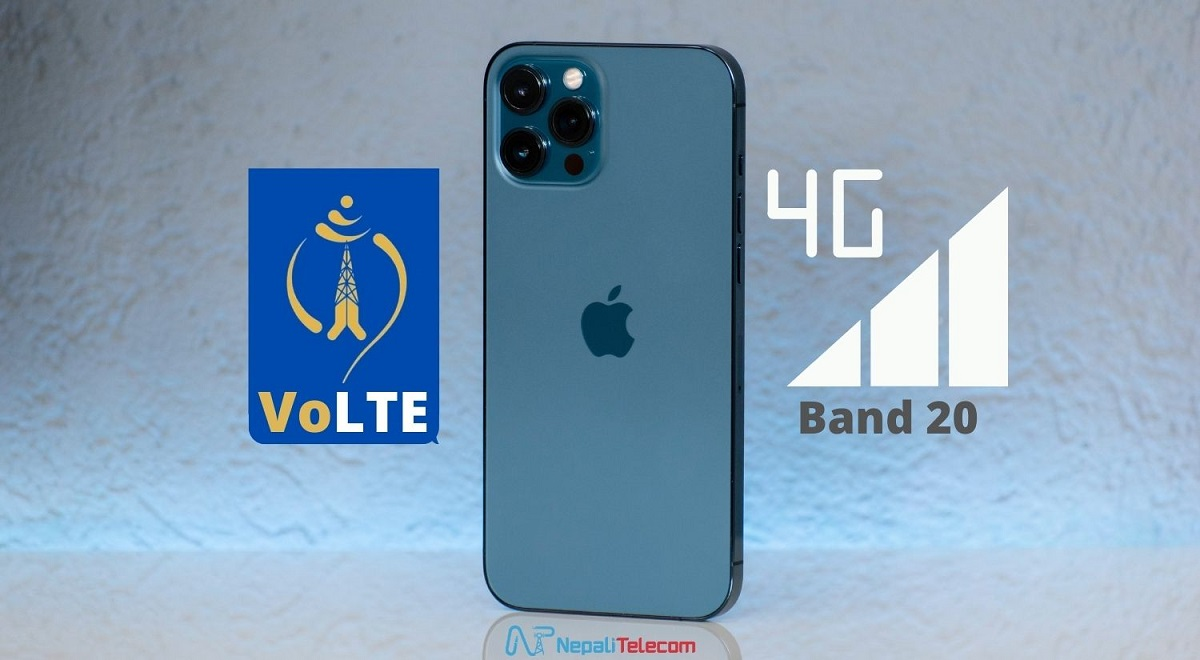 Ntc VoLTE band 20 on Apple iPhone