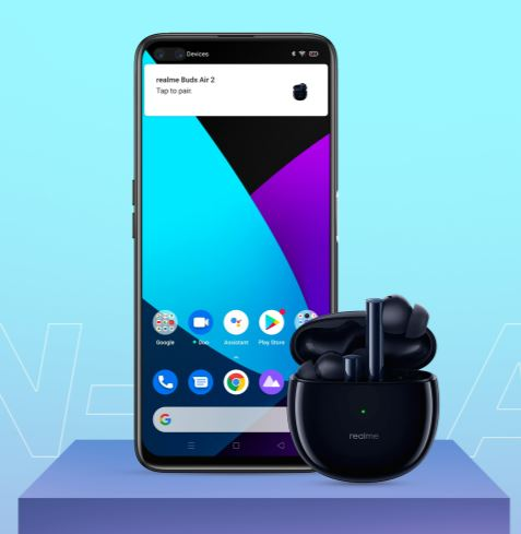 Realme Buds Air 2 Connection