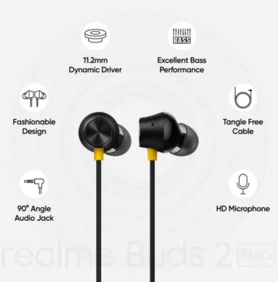 Realme Buds 2 Neo Features
