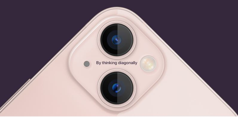 iPhone 13 And iPhone 13 mini cameras
