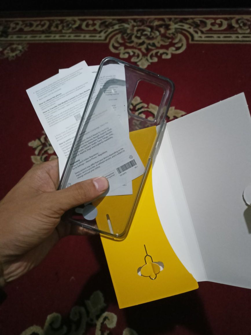 Manuals and Transparent Cover